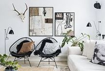 Living Room / Interior decorating ideas for living rooms.