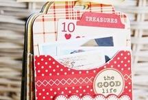Mini Scrapbook Albums / Inspiration, How-Tos, and Kits
