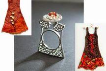 funky jewelry / uncommon jewelry / by Bozena Wojtaszek