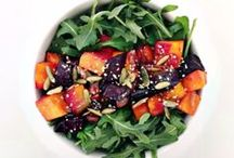 Veggie Dishes / Salads and Greens / by Mirka Parenteau