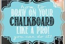 Chalkboard Designs / by Tiffany Goode