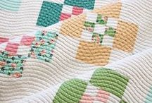Quilting & Binding / When the piecing is all done: quilting and binding