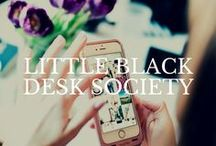 Little Black Desk Society / Community features, highlights, & mentions.