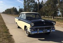 Ford customline 1956 / Sedan 2 doors or coupe from 1956
