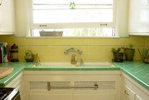 sunny kitchen / by Jessica Parker