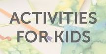 Activities for Kids / Activities, projects, crafts, and experiments for boys and girls of all ages to learn about science, technology, engineering, art, and math by KiwiCo.