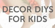 Decor DIYs for Kids / Decor DIYs, arts and craft ideas, and inspiration for kids of all ages by KiwiCo.