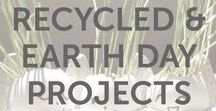 Holidays | Recycled & Earth Day Projects / Environmentally friendly activities and fun DIY projects that use recycled materials for kids of all ages by KiwiCo.