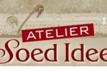 """Soed Idee / Designs of """"Atelier Soed Idee"""". www.soedidee.nl"""