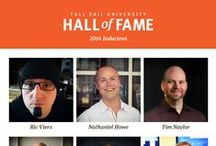 Hall of Fame / The Full Sail University Hall of Fame recognizes the extraordinary accomplishments of select Full Sail University graduates who have excelled in their career field. / by Full Sail University