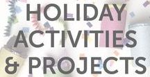 Holiday Activities & Projects / Holiday activities, fun projects, DIYs, arts and craft ideas, and inspiration for kids of all ages by KiwiCo.