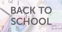 Back to School / Back to school activities, projects, learning, DIY, games, arts and craft ideas and inspiration for kids of all ages by KiwiCo.