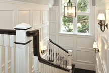 Staircase/Framed Photos / by Caitlin Gaudette