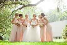 Perfect Pastels  / A pretty pallet of colors for your big day.