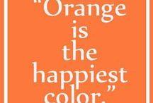 Orange Crush / A fashionably fun board celebrating Full Sail orange in every day life.  / by Full Sail University