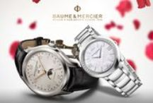 Celebrate Giving / Baume & Mercier is your partner in life's greatest moments. Celebrate with us those of love and success!