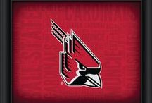 Cardinal & White / Charlie Cardinal leads the BSU Cards on this board - all things Ball State University!