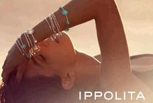 Ippolita / The unique sculptural quality of this jewelry comes from the fact that Italian designer Ippolita insists that each and every piece is made by hand. She is strongly influenced by fashion, yet manages to create pieces that stand the test of time. The goal is to offer jewelry that can be worn all the time - unintimidating, yet cool.