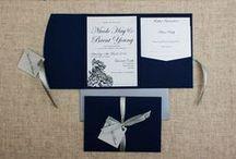 Navy Blue Wedding Ideas / Navy Blue Wedding Style