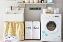 Perfect Laundry Rooms...