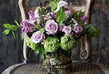 Flower Arrangements / by Rebecca Frost Rosenberg
