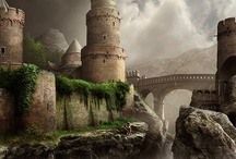 Favorite Places & Spaces / Castles, homes, locations, beaches and other enchanting places I love.