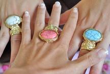 ♥ Rings, Nailpolish rings ♥ / by KimsKie's Nails