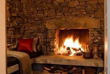 Fireplaces / by Alison Campbell