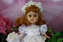 Collectibles by Joan ~ Custom Handmade Ensembles for Vintage Dolls / I am a doll costumer and have sewn for many years for many 1950's collectible dolls as well as my customer's private collections. Special Orders Accepted. Contact me at GAMINERVINI@aol.com