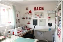 Sewing Room Ideas / by Lisa Royer