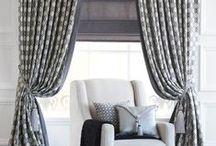 Custom Window Treatments // Parures sur-mesure