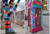 Urban Yarn Bombing / Join in on the fun!