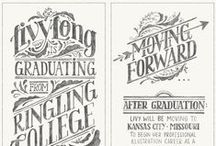 lettering / by Victoria Tennison