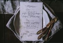 Amy Rochelle Press / Hand Lettering and Letterpress designs for weddings, custom invitations, signs, and event design.