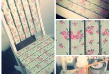 Decoupage / Een wat anders met meubels ed