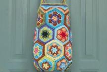 Haken tassen/ crochet bags