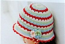 Haken hoedjes en petjes/ crochet beanies and hats