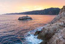 Mediterranean Beaches / The beautiful beaches of the Mediterranean.