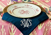 Luxury Monograms / My business selling beautiful custom monogrammed home decor and apparel.