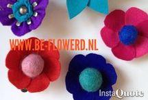 """be-flowerd beauty's / Mooie handgemaakte producten. Be-flowerd maakt ze nog steeds, allemaal """"made tot order"""".  Wil jij zo'n prachtig, persoonlijk en handgemaakt product, neem gerust contact met ons op! www.be-flowerd.nl"""