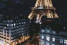 Paris - Trip Planning Board / One of my favorite cities, always close to my heart