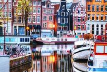Amsterdam + The Low Countries - Travel Inspiration Board / Amsterdam visited April 2015.  Belgium in October 2015.  All things Amsterdam + The Low Countries!