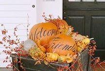 Fall Decorations / All things Fall