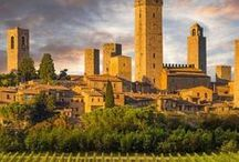 Tuscany + Emilia-Romagna - Travel Inspiration Board / Focus on the Italian regions of Toscana and Emilia-Romagna