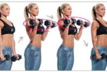 Armed and Fabulous / Sculpt killer bi's and tri's and shape your upper body with these comprehensive arm workouts for women.