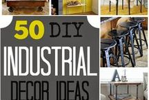 The Industrial Look / Mantiques, Office decor, gifts for guys