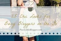 ♥ Fashion Bloggers / Tips for Fashion Bloggers from PoorLittleBlogger.com and around the net.
