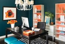 Home Office Design / Make your home office space a comfortable place to catch up on work