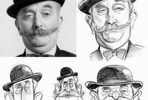 Drawing - Human Face