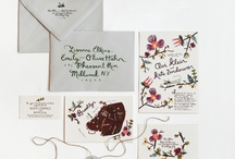 WEDDING INVITES / by Melissa Esplin